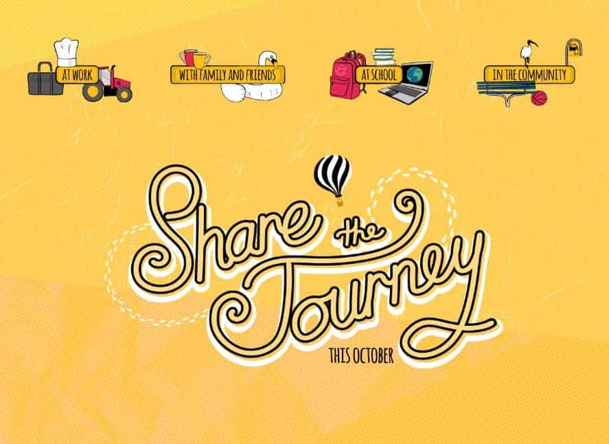 Share the Journey - Mental Health Month 2019
